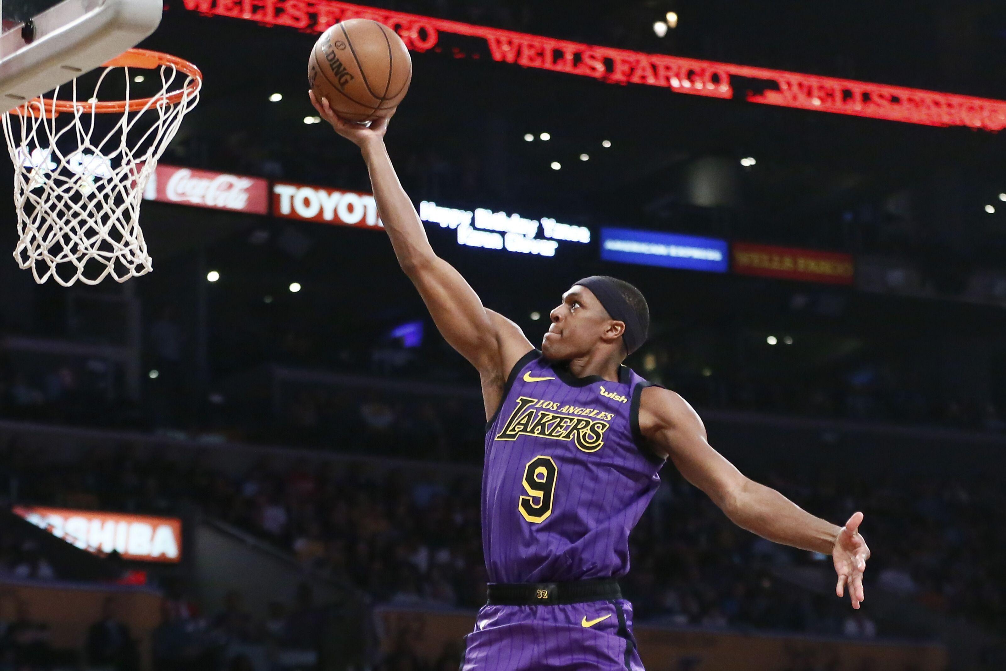 Los Angeles Lakers: 2018-19 player grades for Rajon Rondo