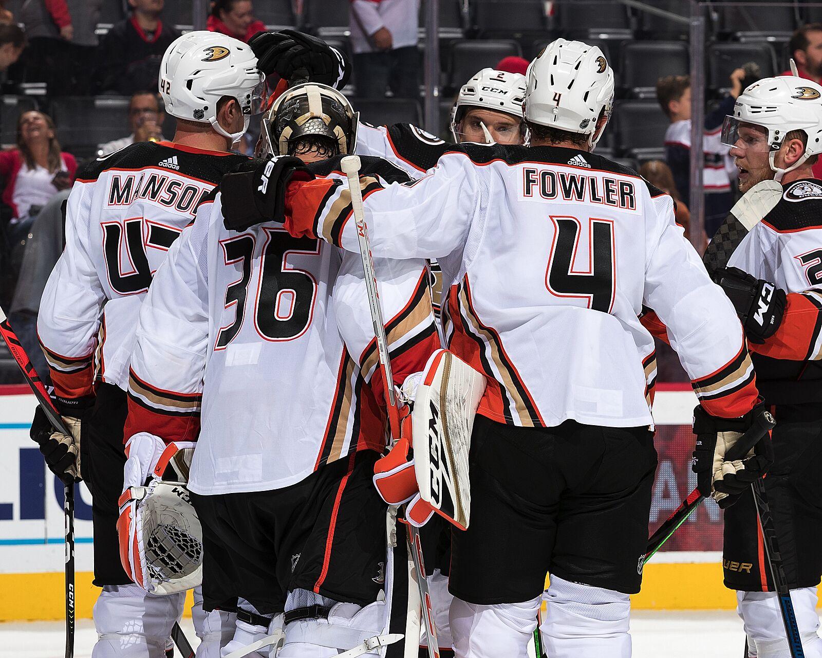 The Power Five of the Anaheim Ducks