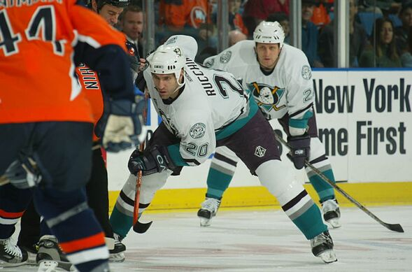 adf448568 Anaheim Ducks 25th Anniversary  Best player to wear numbers 16-20