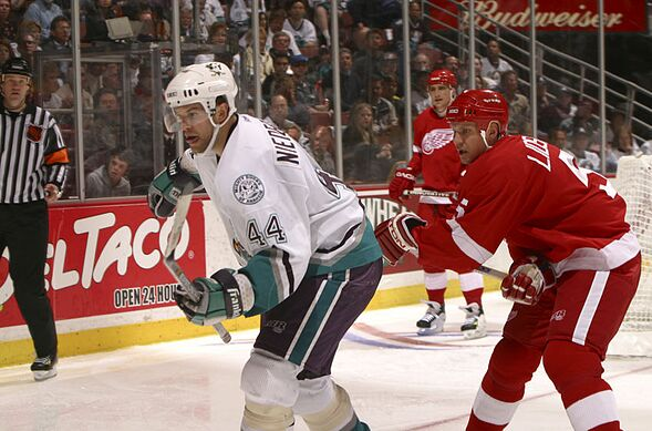 154e1431a Anaheim Ducks Tales  The 2003 Sweep of the Detroit Red Wings