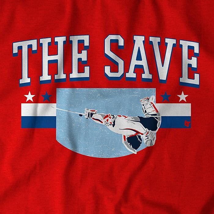 8ebdf95136e Washington Capitals fans need this  The Save  t-shirt