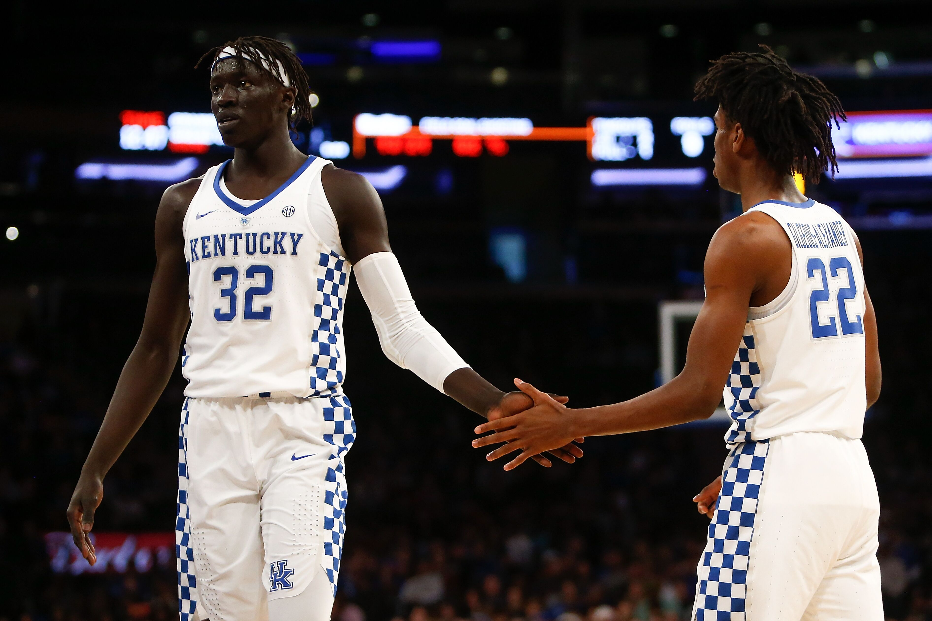 Kentucky Wildcats Basketball: No. 16 Is Where The Kentucky Wildcats Men's Basketball Belongs