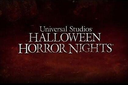 The 26th Annual Universal Studios Orlando Halloween Horror Nights Ad.