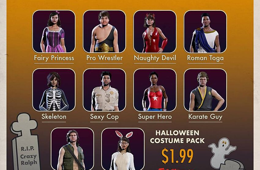 Friday the 13th: The Game adding new Halloween Costume Pack DLC