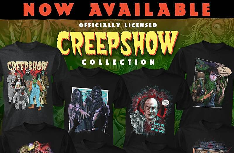c529255804e Creep yourself out with Fright-Rags  Creepshow collection
