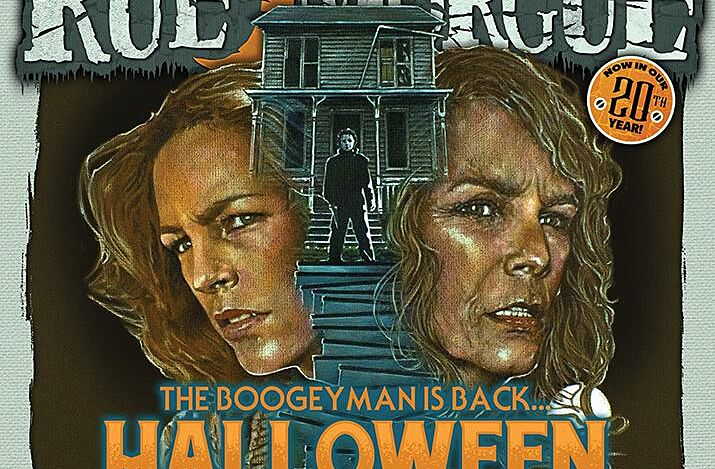 Halloween 2018 Fan Poster.Halloween Michael Myers Comeback Film Gets Rue Morgue Cover