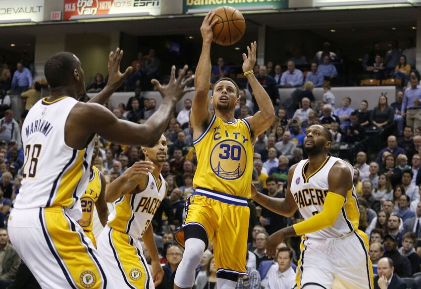 Image result for Indiana Pacers vs Golden State Warriors