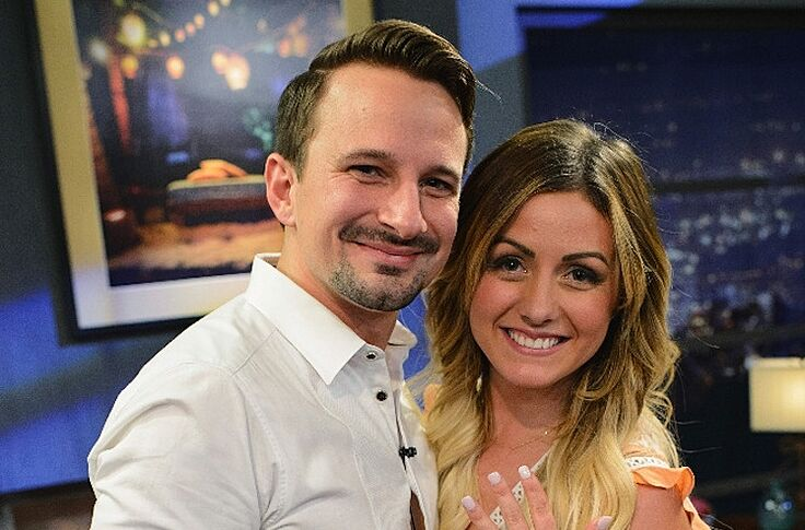 Carly And Evan Wedding.Bachelor In Paradise Stars Carly And Evan S Wedding Pics Are Adorable