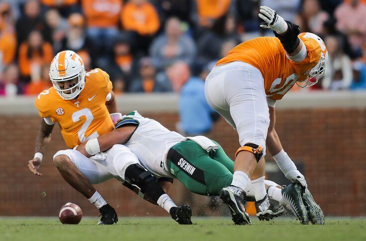 Tennessee football: More stats favoring Jarrett Guarantano