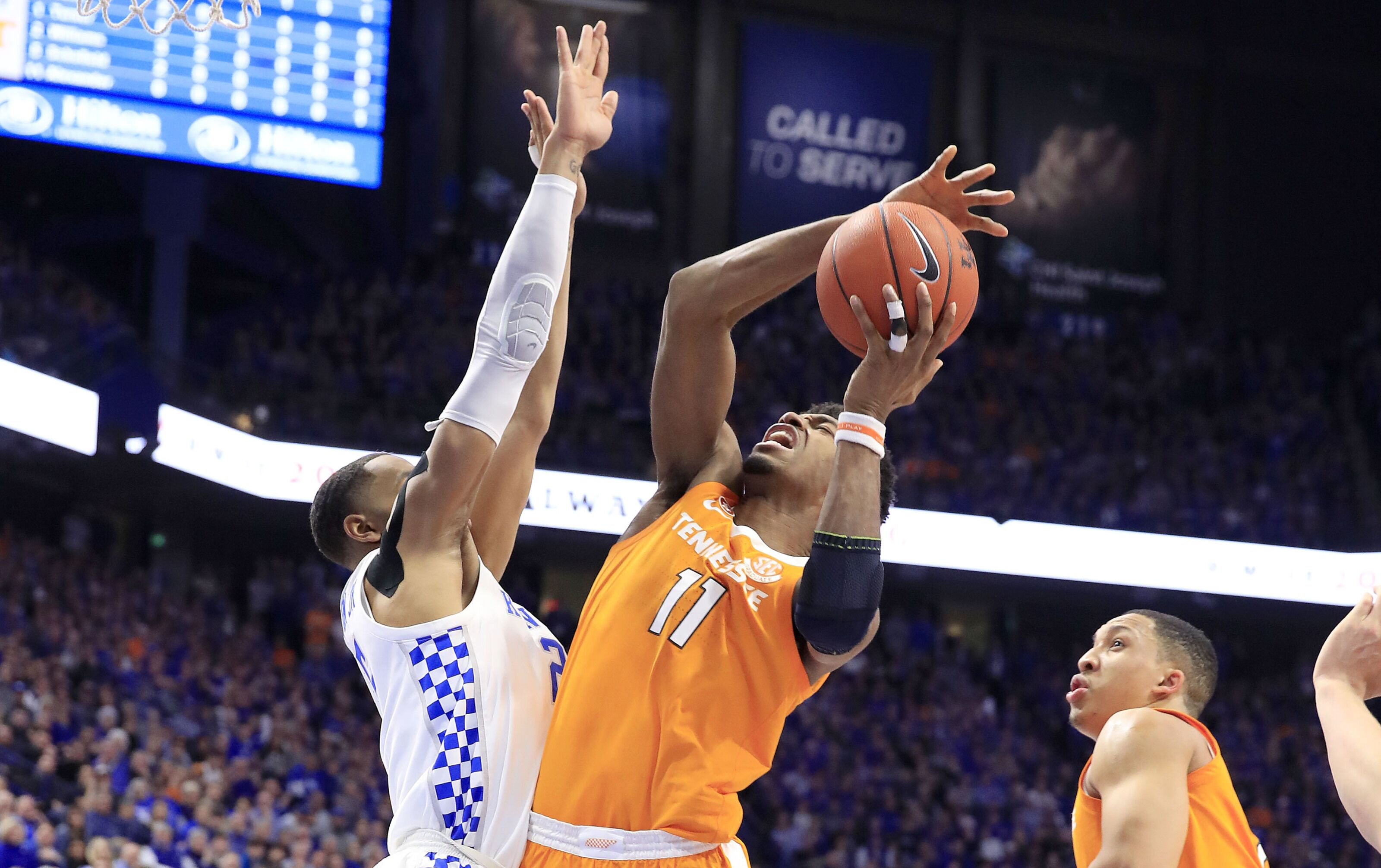 Tennessee Vols Upset Kentucky Wildcats Photo Gallery: Tennessee Basketball: Vols Had One Terribly Bad Night In
