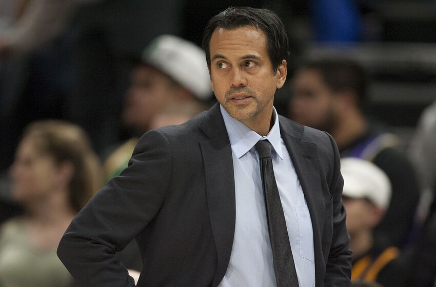 2049942ba Miami Heat  Head Coach Erik Spoelstra