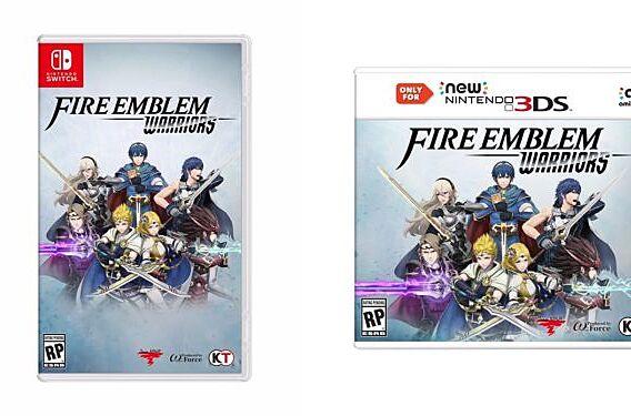 e3 2017 fire emblem warriors trailer
