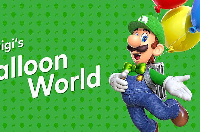 Luigi's Balloon World in Super Mario Odyssey brings a much-needed smile