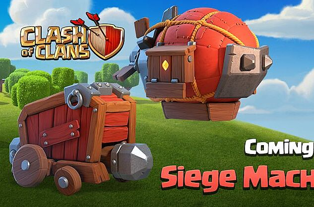 clash of clans town hall 12 update introduces siege machines