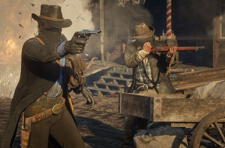 Red Dead Redemption 2 gameplay video shows off life in the