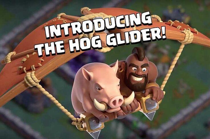 Clash of Clans June update: Builder Hall 9, Hog Glider