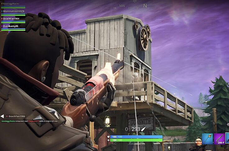 Fortnite introduces first no-build zone with Tilted Town