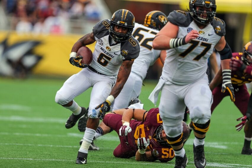 Missouri Tigers Marcus Murphy Named To Senior Bowl Roster