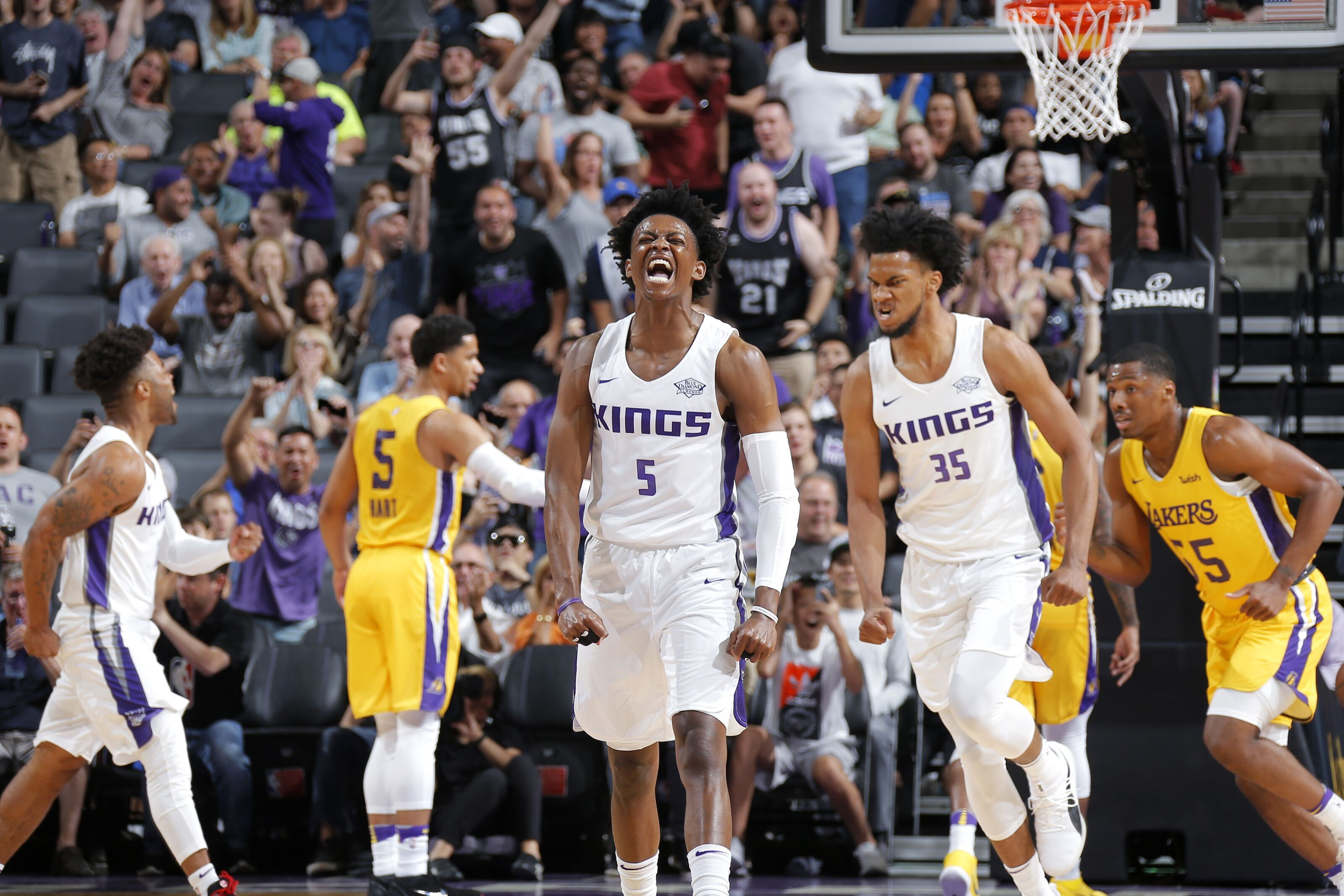 Image result for kings vs lakers summer league