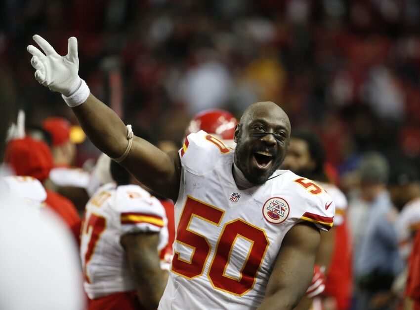 Chiefs injuries: Justin Houston not practicing with bad knee | 850 x 560 jpeg 66kB