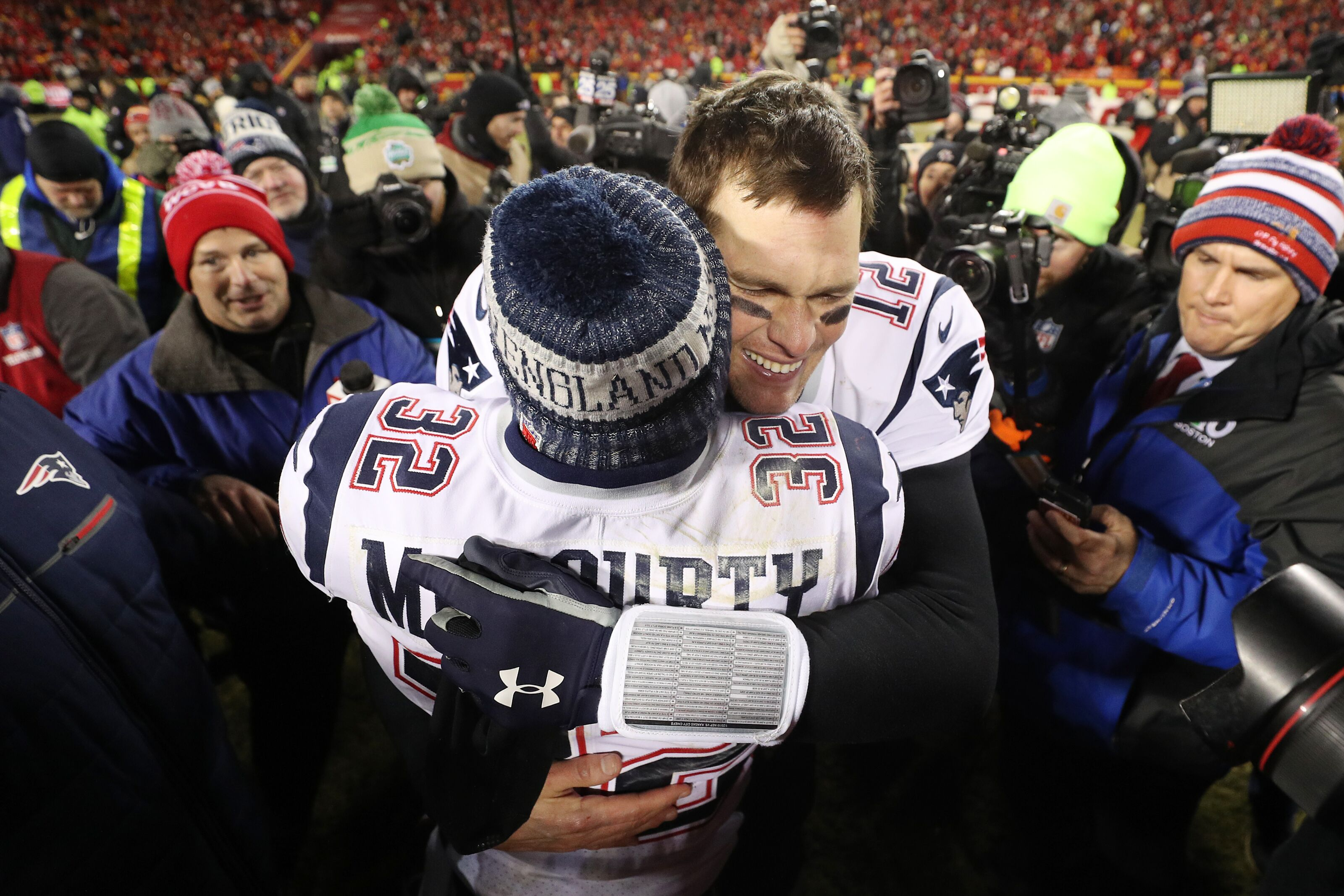 Tom Brady gives praise, respect to Patrick Mahomes after Patriots win over Chiefs
