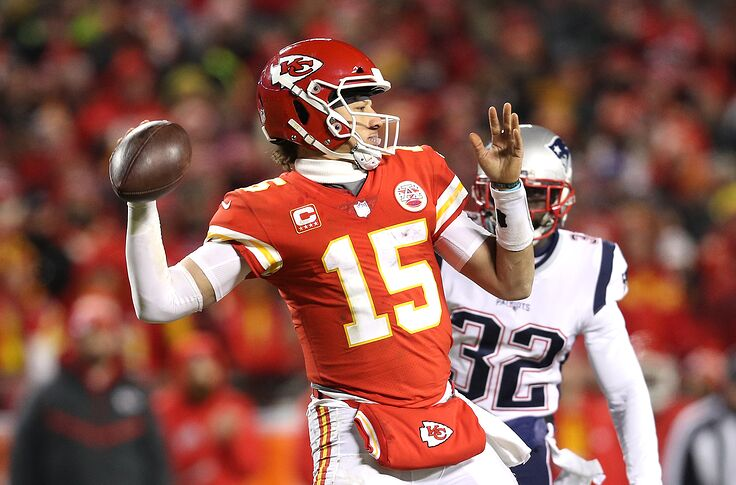 best authentic c34d3 fdaff 2019 Pro Bowl: Patrick Mahomes among 5 Chiefs in NFL's all ...