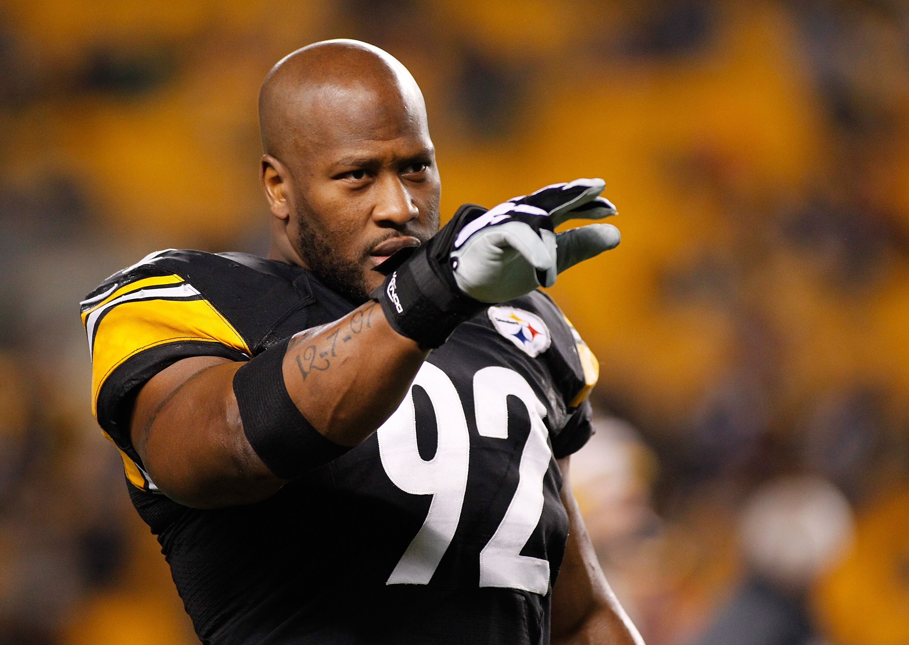 Image result for James Harrison vs bengals