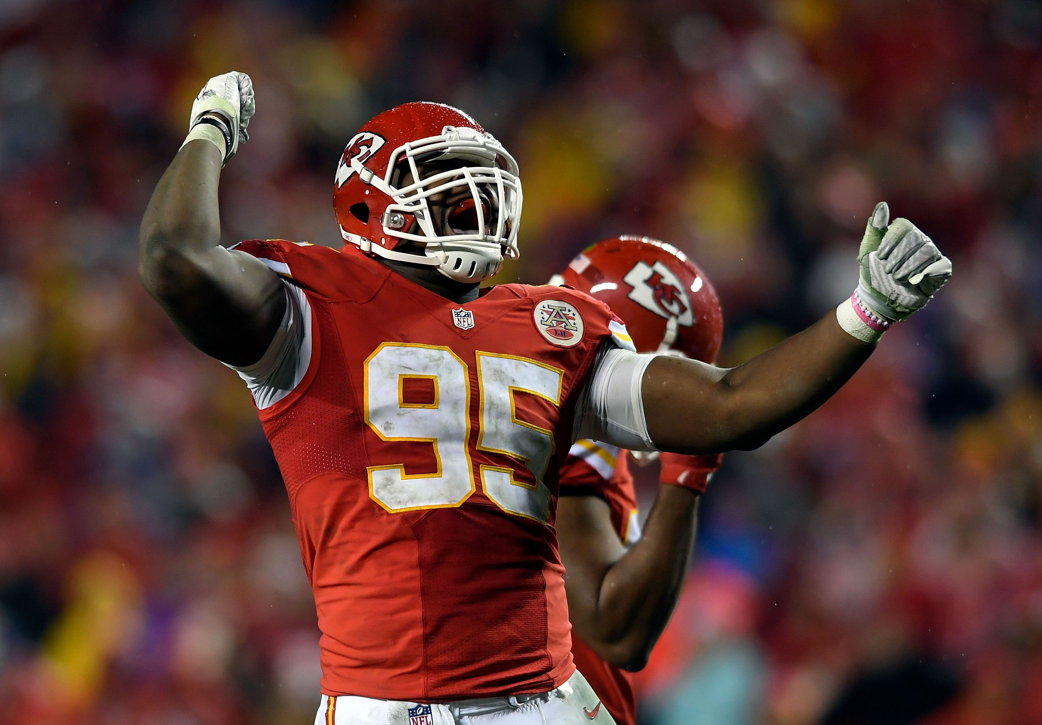Chris Jones is an emerging defensive leader for the Kansas City Chiefs