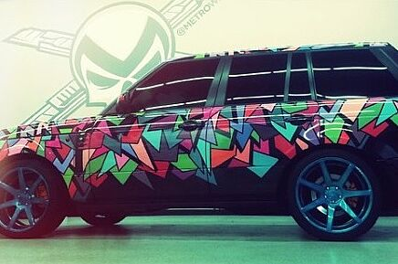 Range Rover Austin >> Check Out Austin Mahone S Wrapped Range Rover Art Of Gears