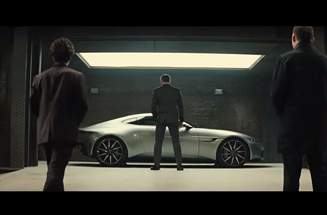 James Bonds Aston Martin DB Does In Seconds Art Of Gears - James bond aston martin db10