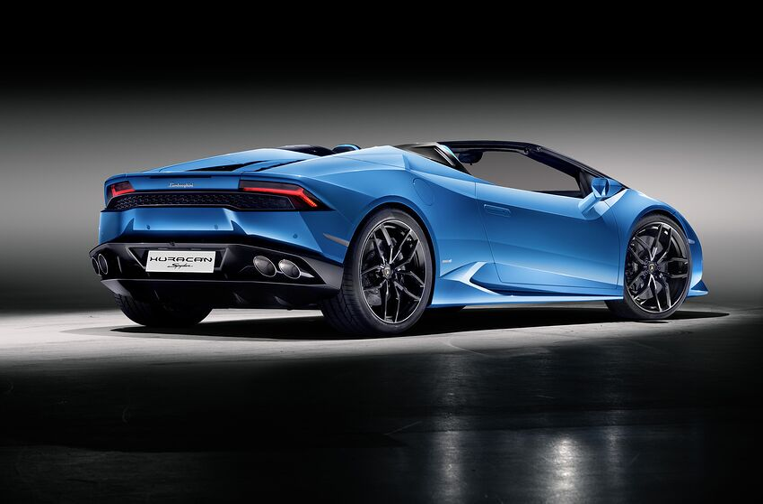 Lamborghini Huracan Spyder Takes 17 Seconds To Drop Its Top