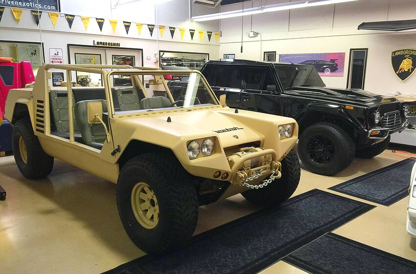 Lamborghini Cheetah Prototype Found Restored Like New