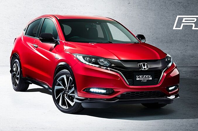 2017 honda hr v hybrid rs is sporty jdm spec crossover