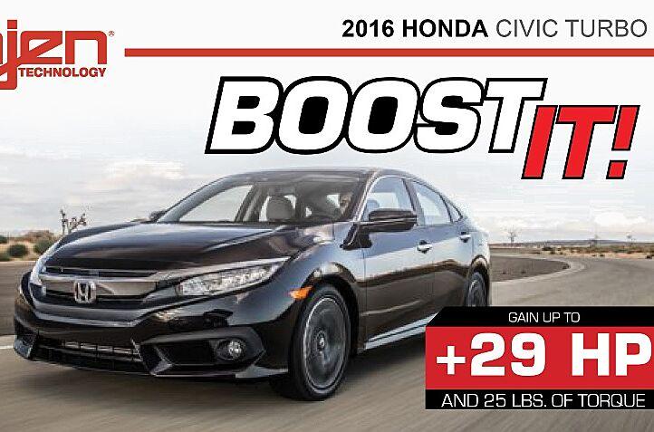 2016 Honda Civic 1 5t Injen Cold Air Intake Adds 29 Hp And 25 Lb Ft
