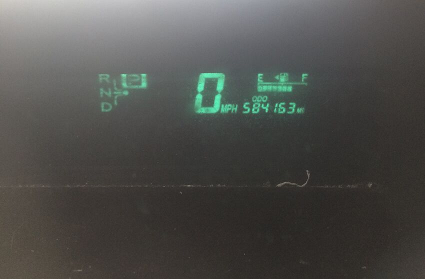 This Second Generation Toyota Prius Has Close To 600 000 Miles