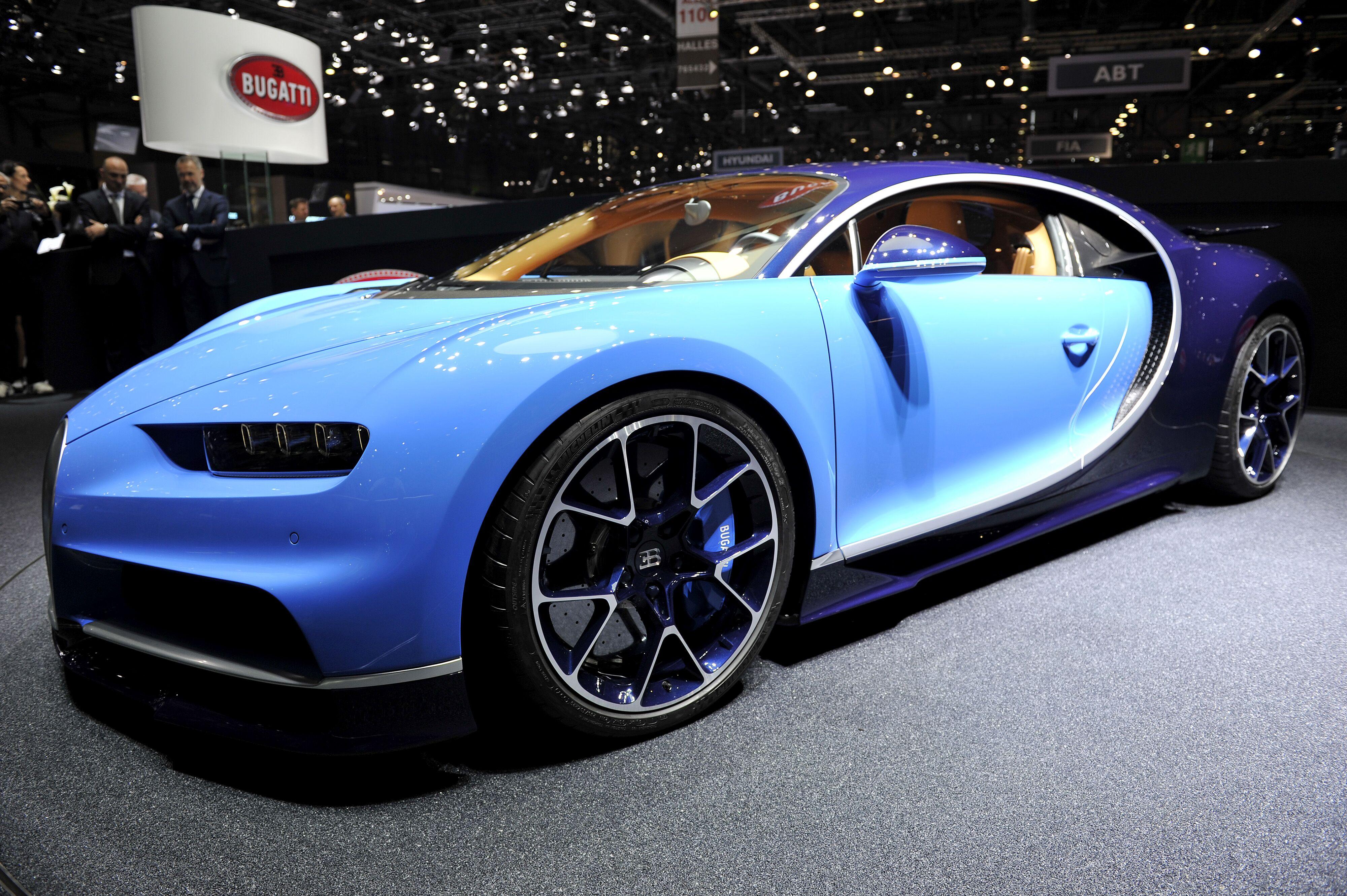 Geneva Switzerland March  The Bugatti Chiron Is Presented During The Bugatti Press