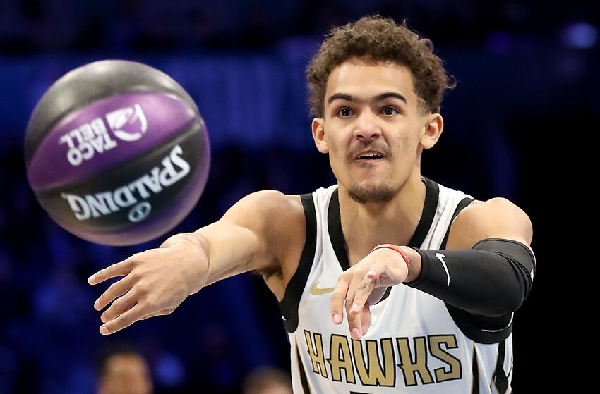 f9f92d2d4a88 Atlanta Hawks  Trae Young Is The Best Rookie in Team History