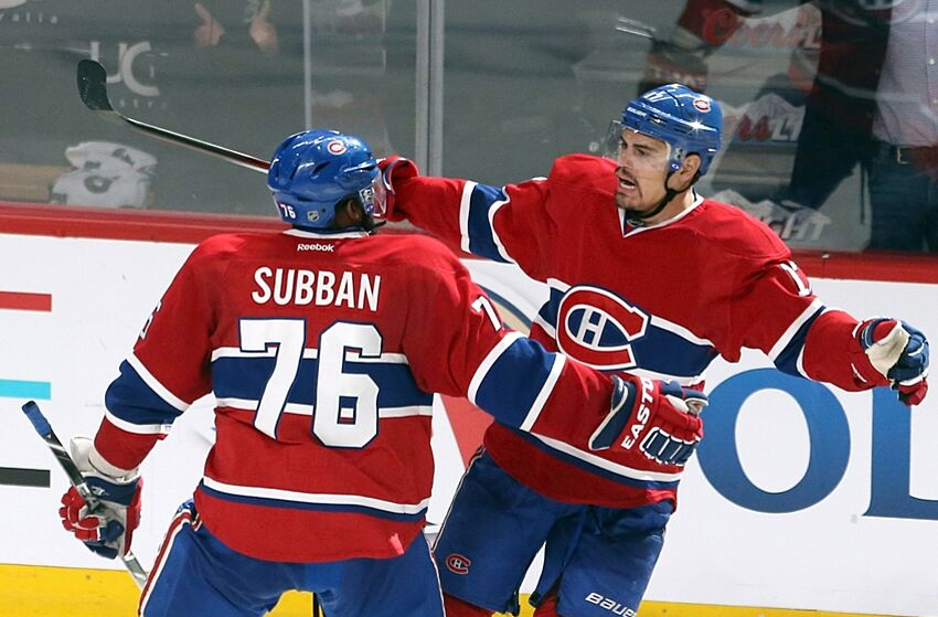 Rene Bourque s Playoff Should Not Stop Montreal Canadiens From Buying Him  Out 7c796e3a11d7