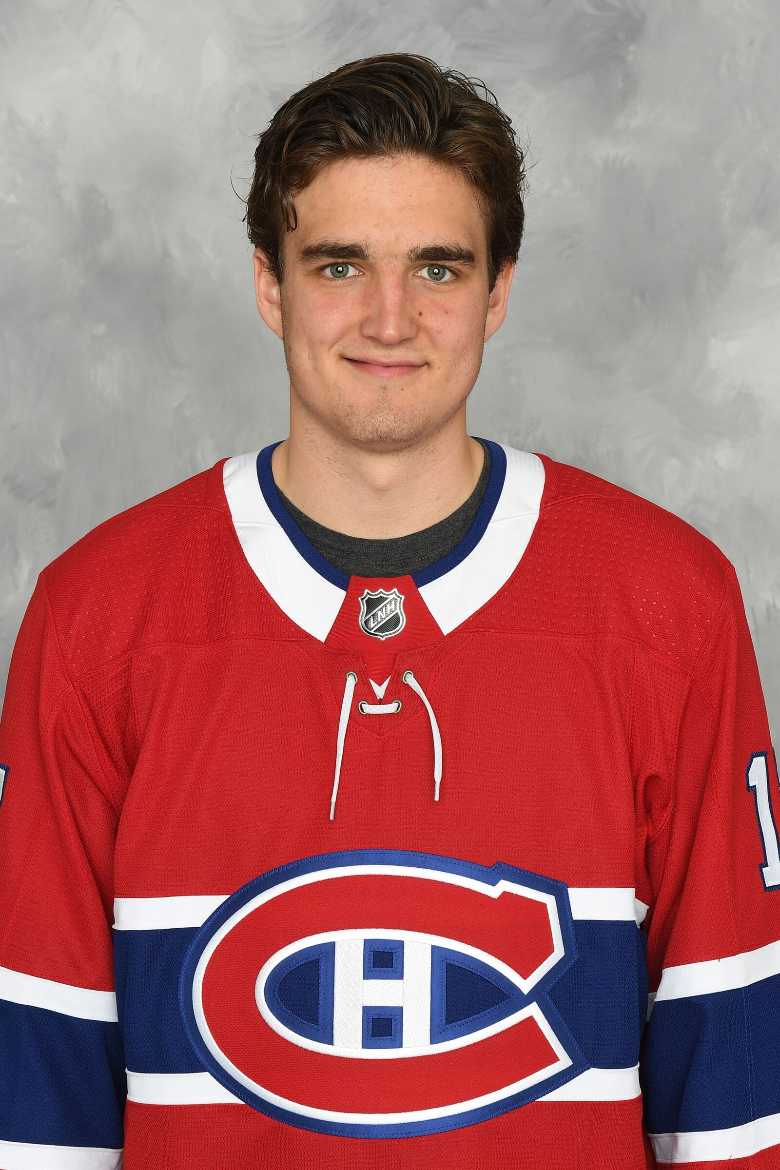 Brossard Qc September 14 Arvid Henrikson Of The Montreal Canadiens Poses For His