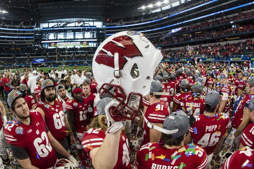 Image result for wisconsin badgers football