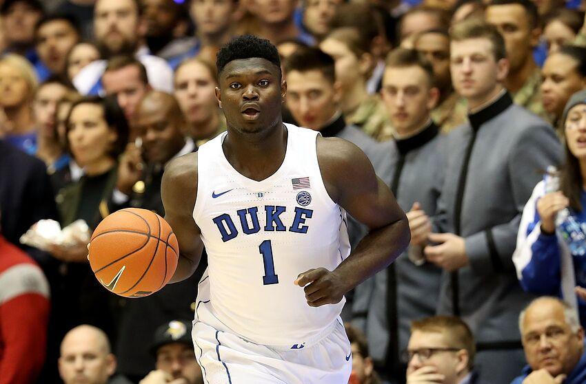 Duke Basketball  Zion Williamson sweeps ACC weekly honors cfce28593