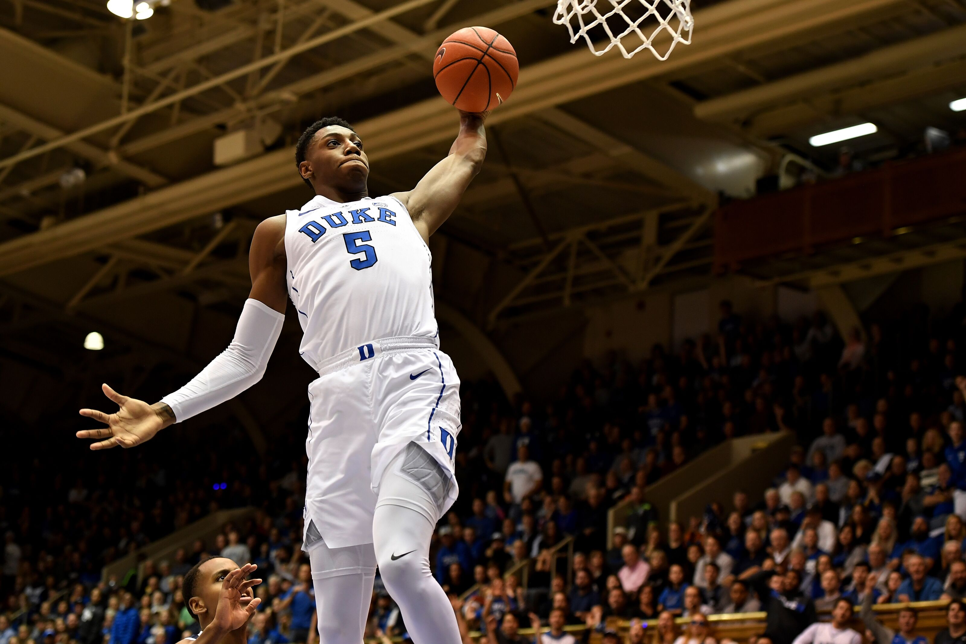 Duke Basketball Blue Devils At Halftime Against Princeton In Return To