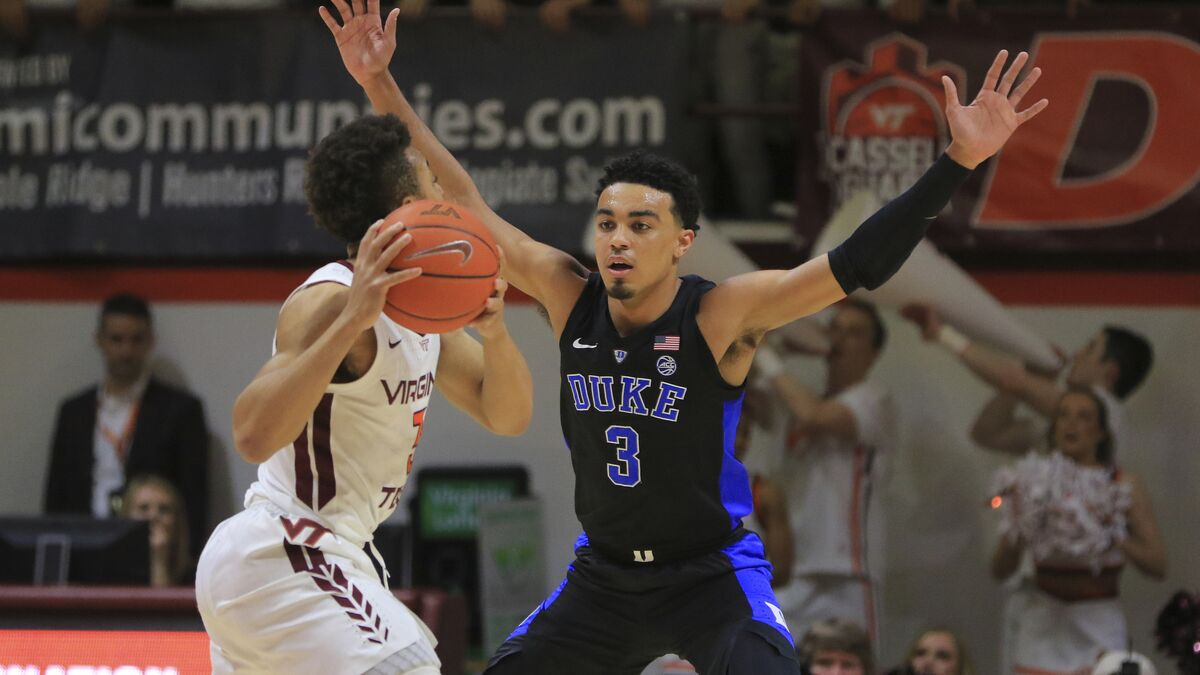 Duke caps off outstanding week with comeback win against Virginia Tech