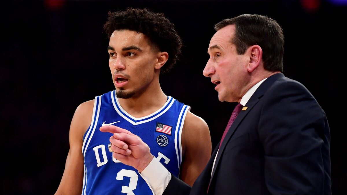 Stock down from No. 1 Duke's historic loss to Stephen F. Austin