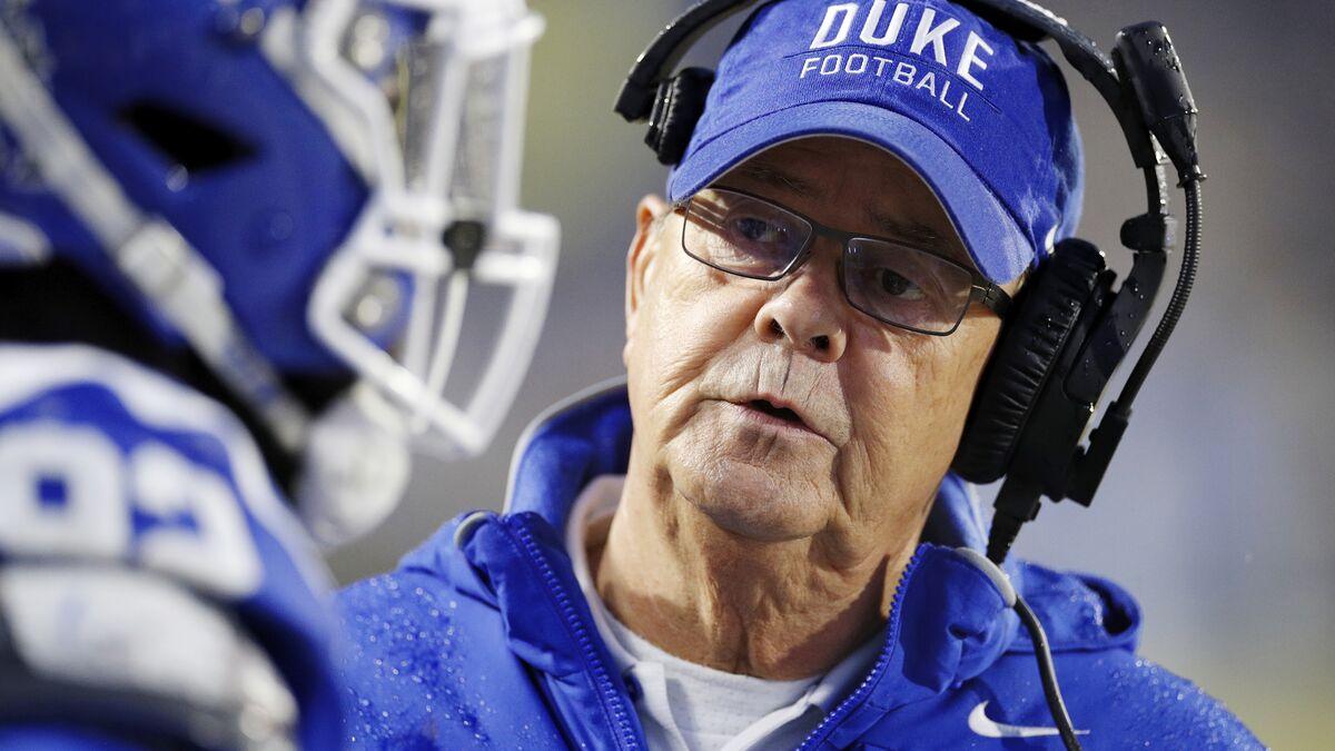 ACC announces Duke football schedule for 2020 season