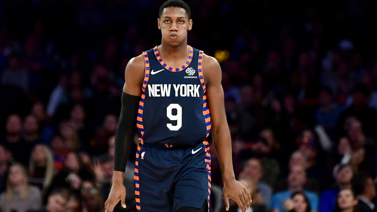 RJ Barrett to be out at least a week with first major injury of career