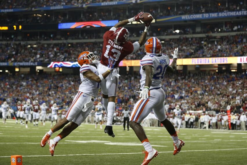 Sec Championship Inside The Stats Of Alabama S Win
