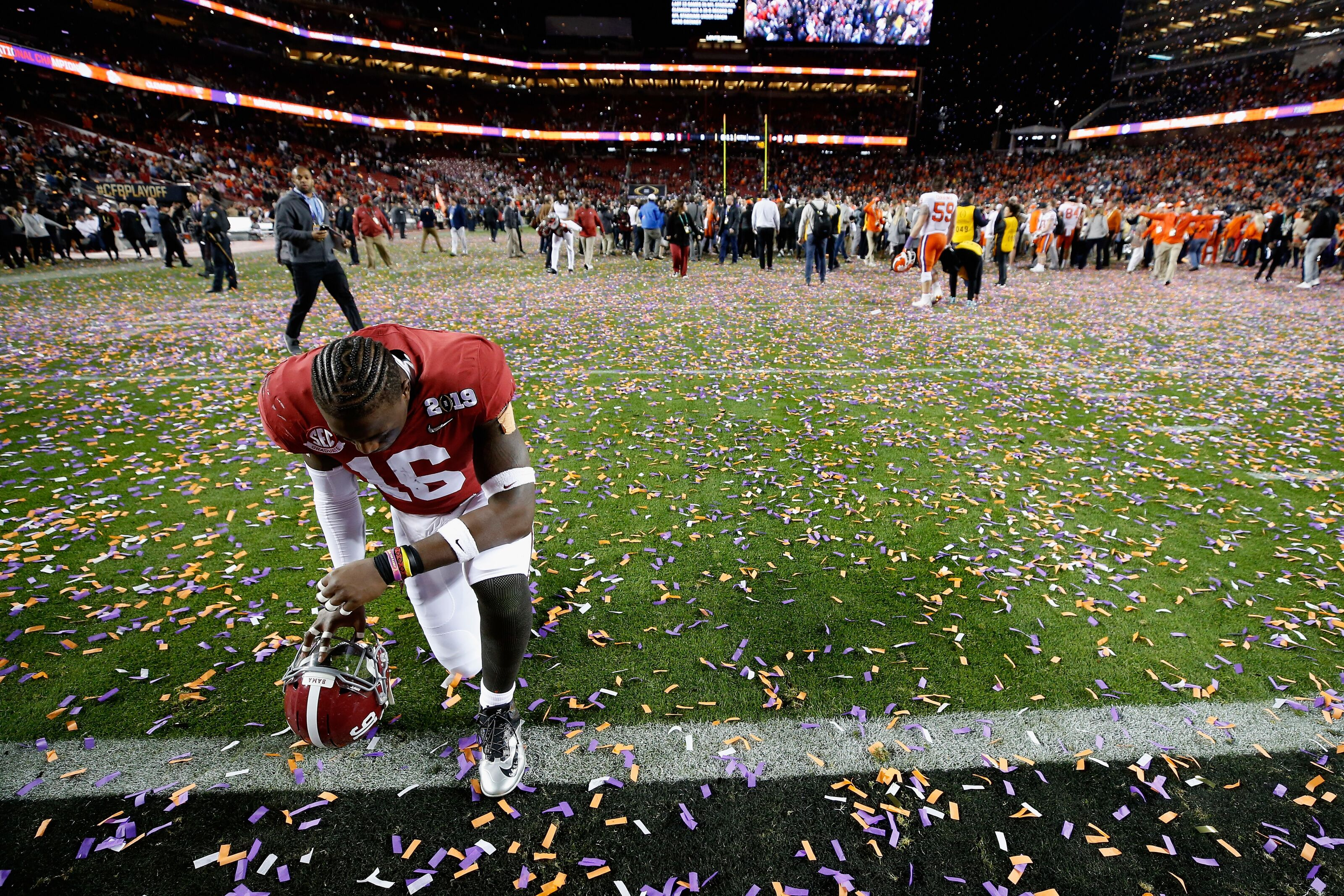 Alabama Football Hats Off To The National Champion Clemson