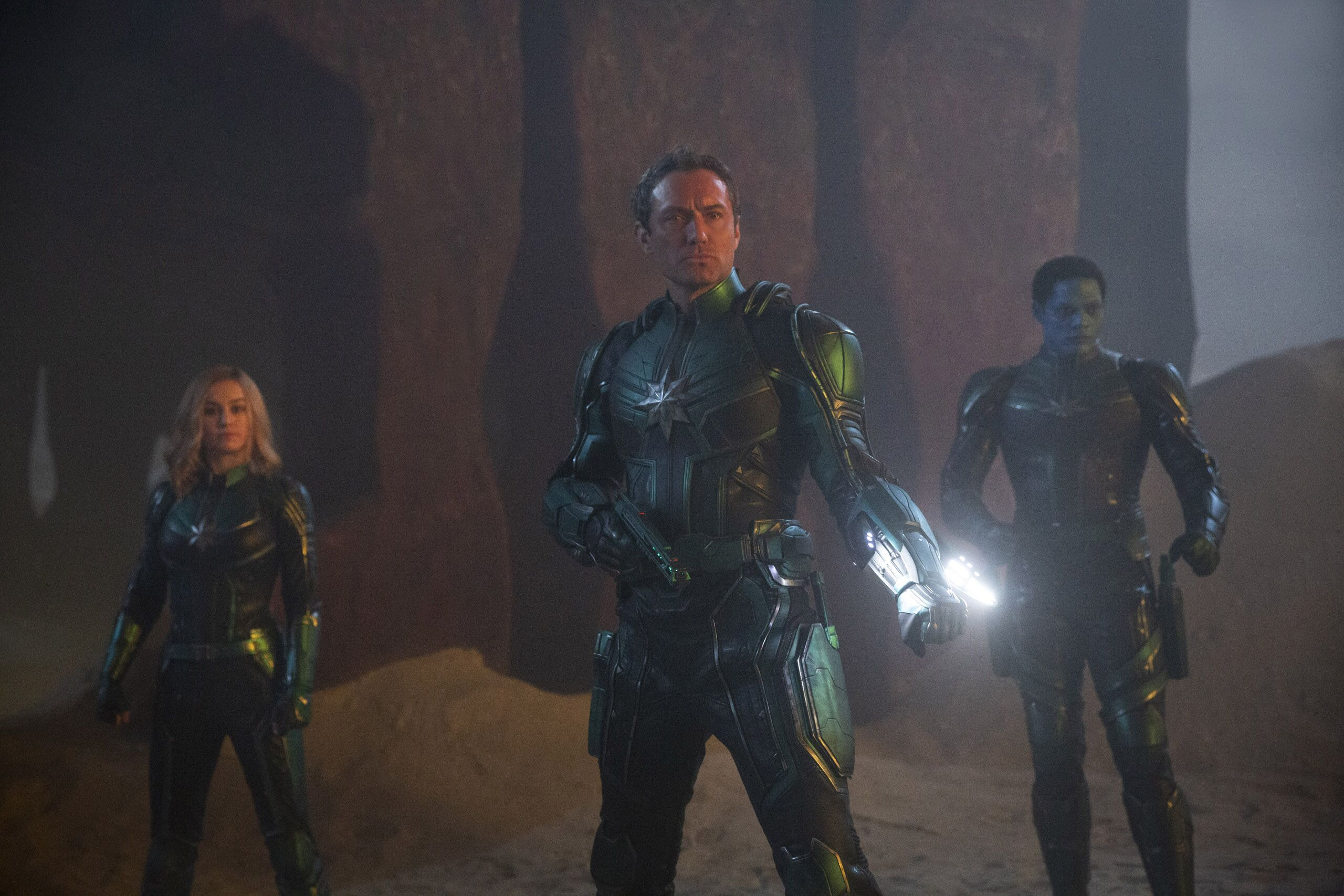 Captain Marvel Theres Bad Blood Between The Kree And Skrulls