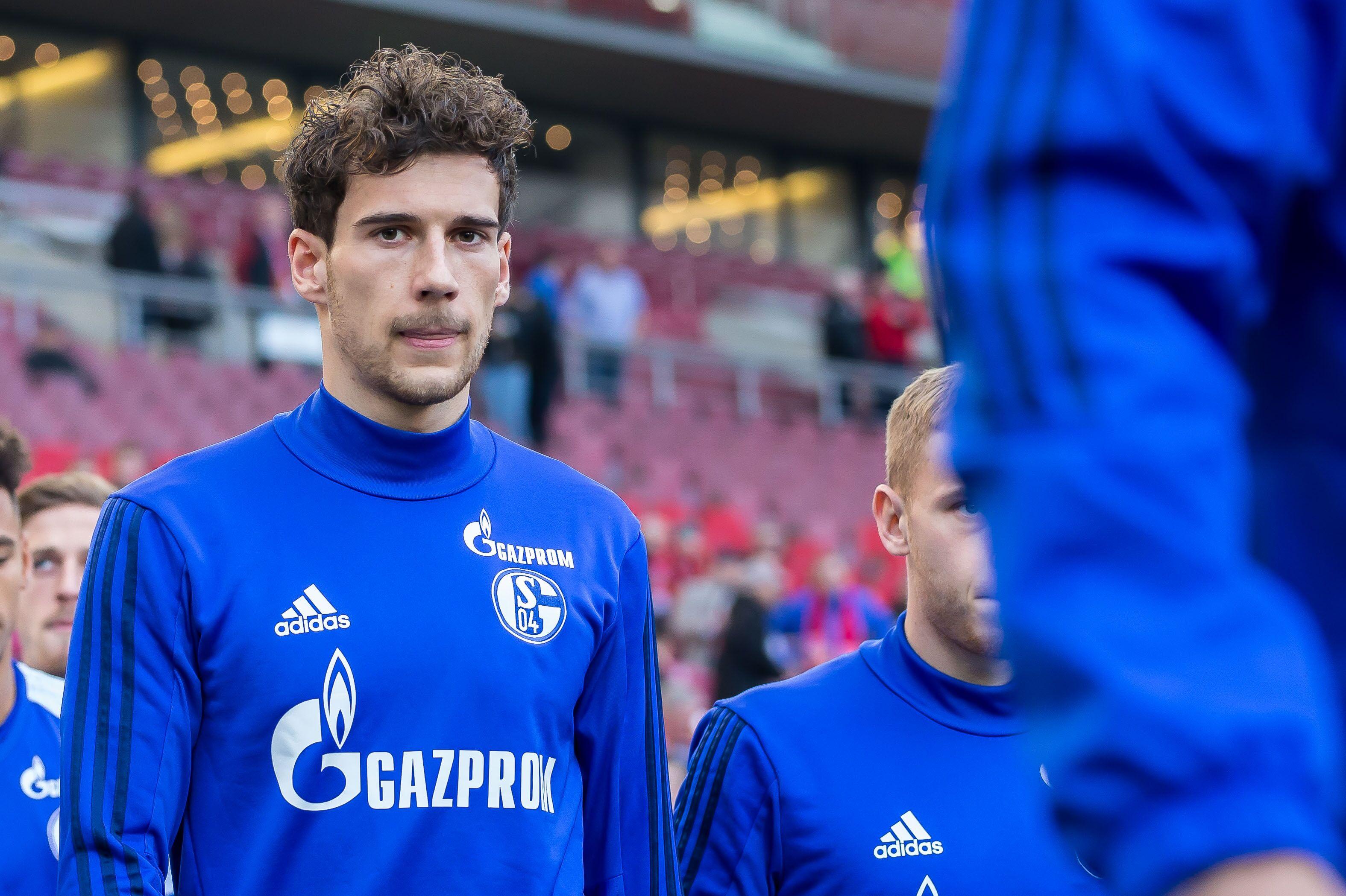 Stuttgart Germany January 27 Leon Goretzka Of Schalke Looks On During The Bundesliga